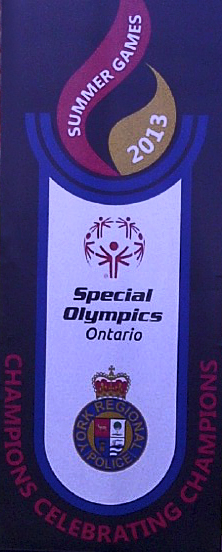 Special Olympics Banner